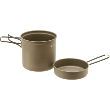 photo: Backcountry.com Titanium Cookset - 1100ml pot/pan