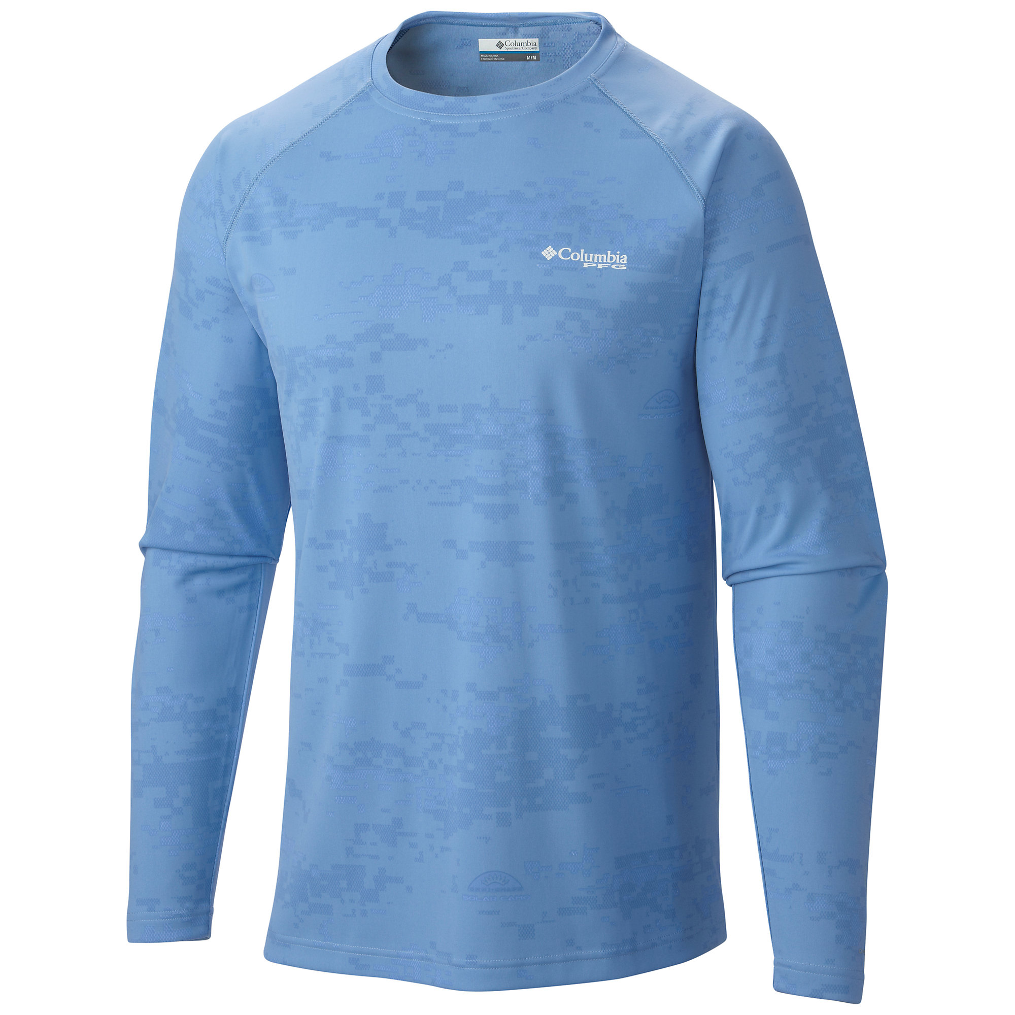 Columbia PFG Solar Camo Long Sleeve Knit