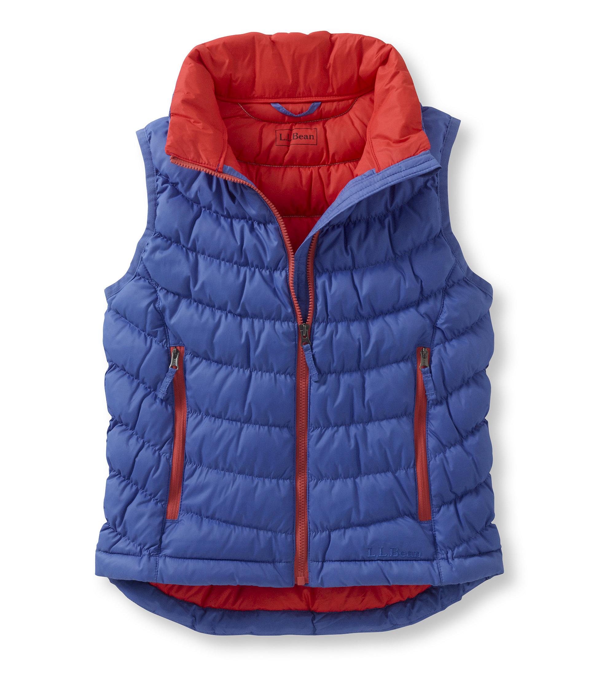 photo: L.L.Bean Scrunch Down Vest down insulated vest