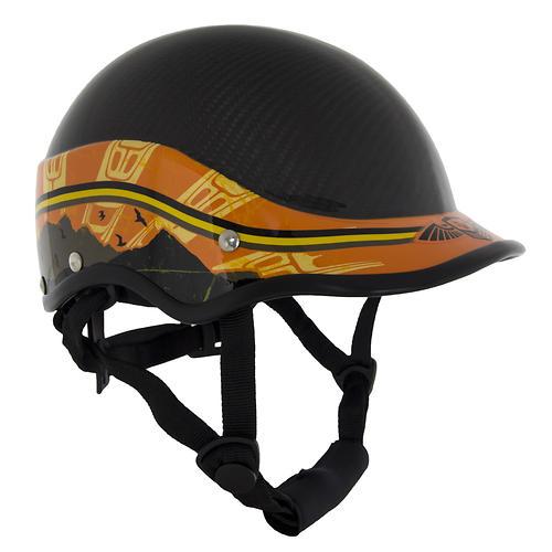 photo of a WRSI paddling helmet