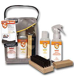 photo: Gear Aid ReviveX Nubuck, Suede & Fabric Boot Care Kit gear care/maintenance product