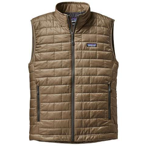photo: Patagonia Men's Nano Puff Vest synthetic insulated vest