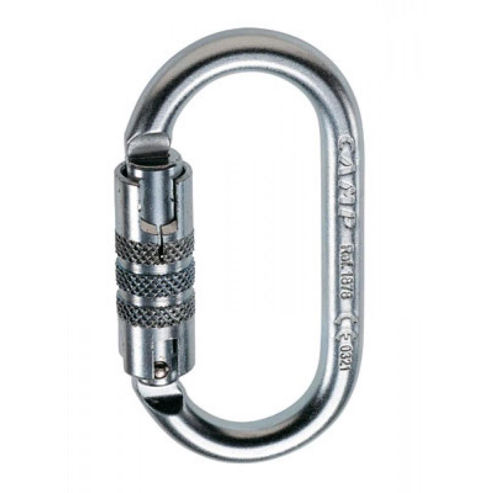 photo: CAMP Oval 2Lock locking carabiner