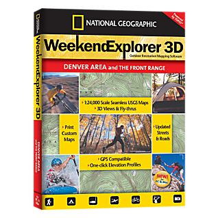 National Geographic Weekend Explorer 3D - Denver Area CD-ROM