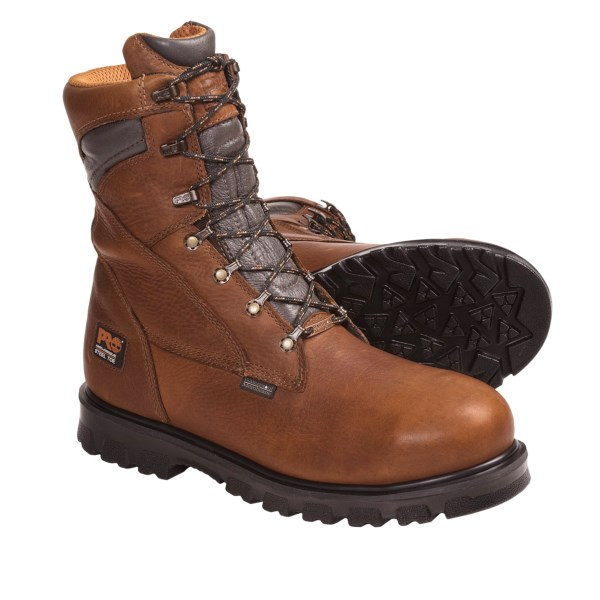 photo: Timberland Pro Rigmaster 8-Inch Steel Toe hiking boot