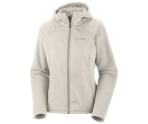photo: Columbia Fast Trek Hybrid Full Zip fleece jacket