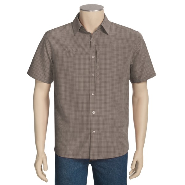 Mammut Explore No Fly Zone Shirt - Short Sleeve