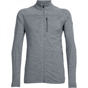 photo: Icebreaker Mt Elliot Long Sleeve Zip wool jacket