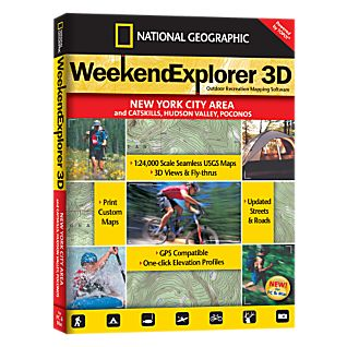 National Geographic Weekend Explorer 3D - New York City Area CD-ROM