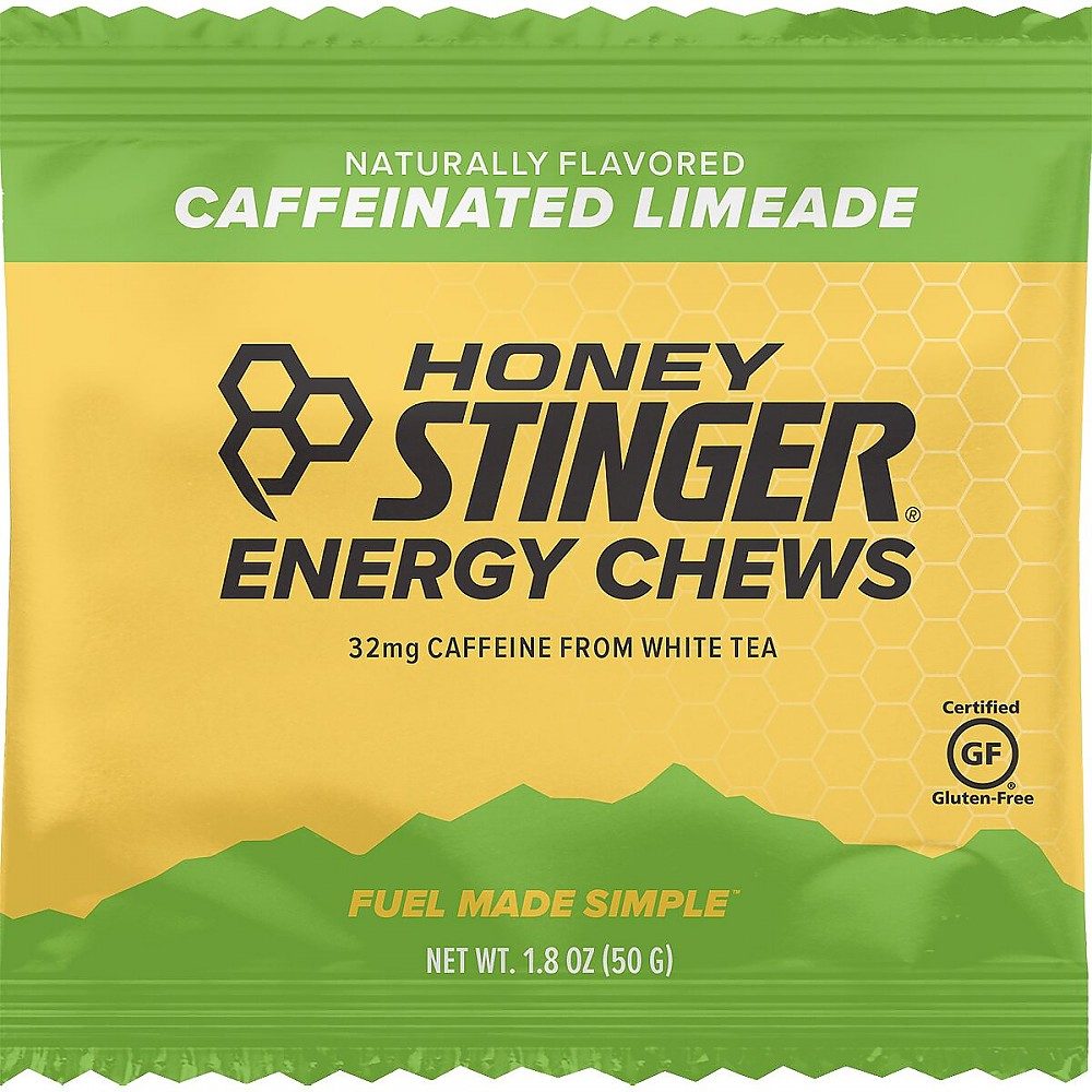 photo: Honey Stinger Organic Energy Chews gel/chew