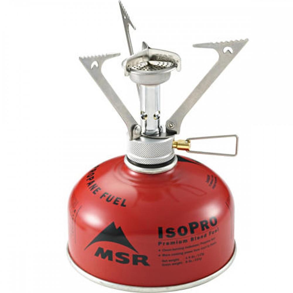 photo: MSR PocketRocket compressed fuel canister stove