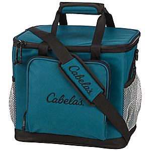 Cabela's 30-Can Soft-Sided Cooler - Blue