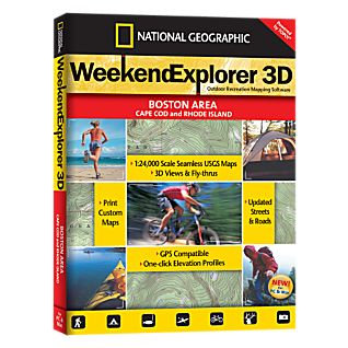 National Geographic Weekend Explorer 3D - Boston, Cape Cod & Rhode Island CD-ROM