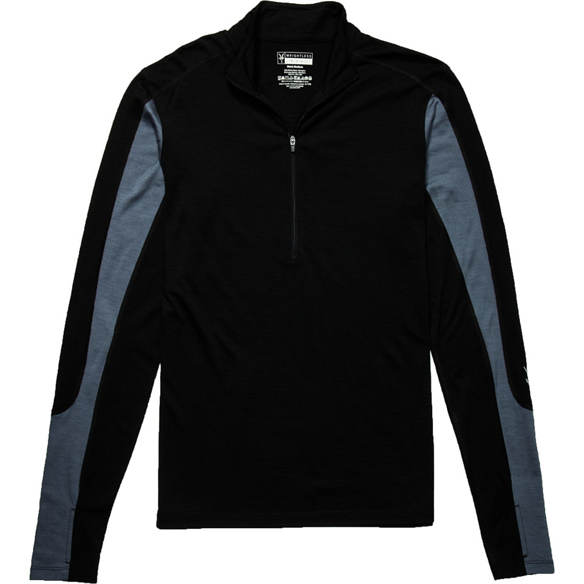Ibex W2 Long Sleeve Sport Zip