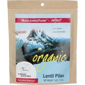 photo: Mary Janes Farm Organic Lentil Pilav vegetarian entrée