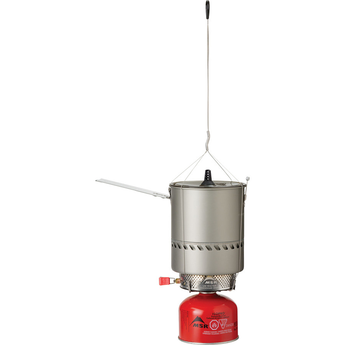 photo: MSR Reactor Hanging Kit stove accessory