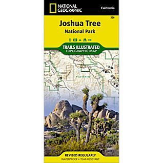National Geographic Joshua Tree National Park Map