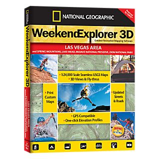 National Geographic Weekend Explorer 3D - Las Vegas Area CD-ROM