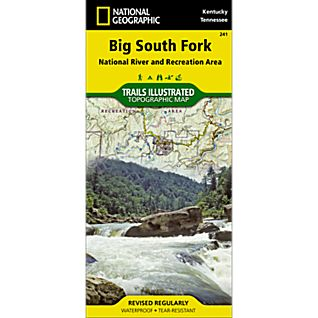 National Geographic Big South Fork National Recreation Area Map