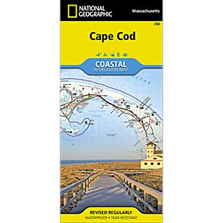 National Geographic Cape Cod National Seashore Map