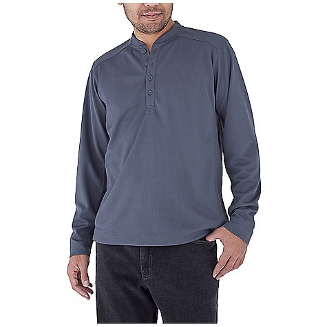 photo: Royal Robbins Performance Waffle Henley hiking shirt
