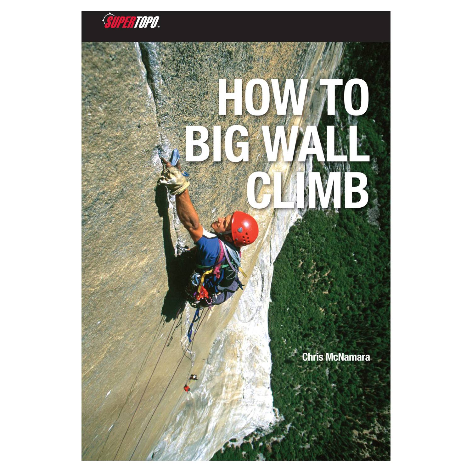 photo of a SuperTopo climbing book