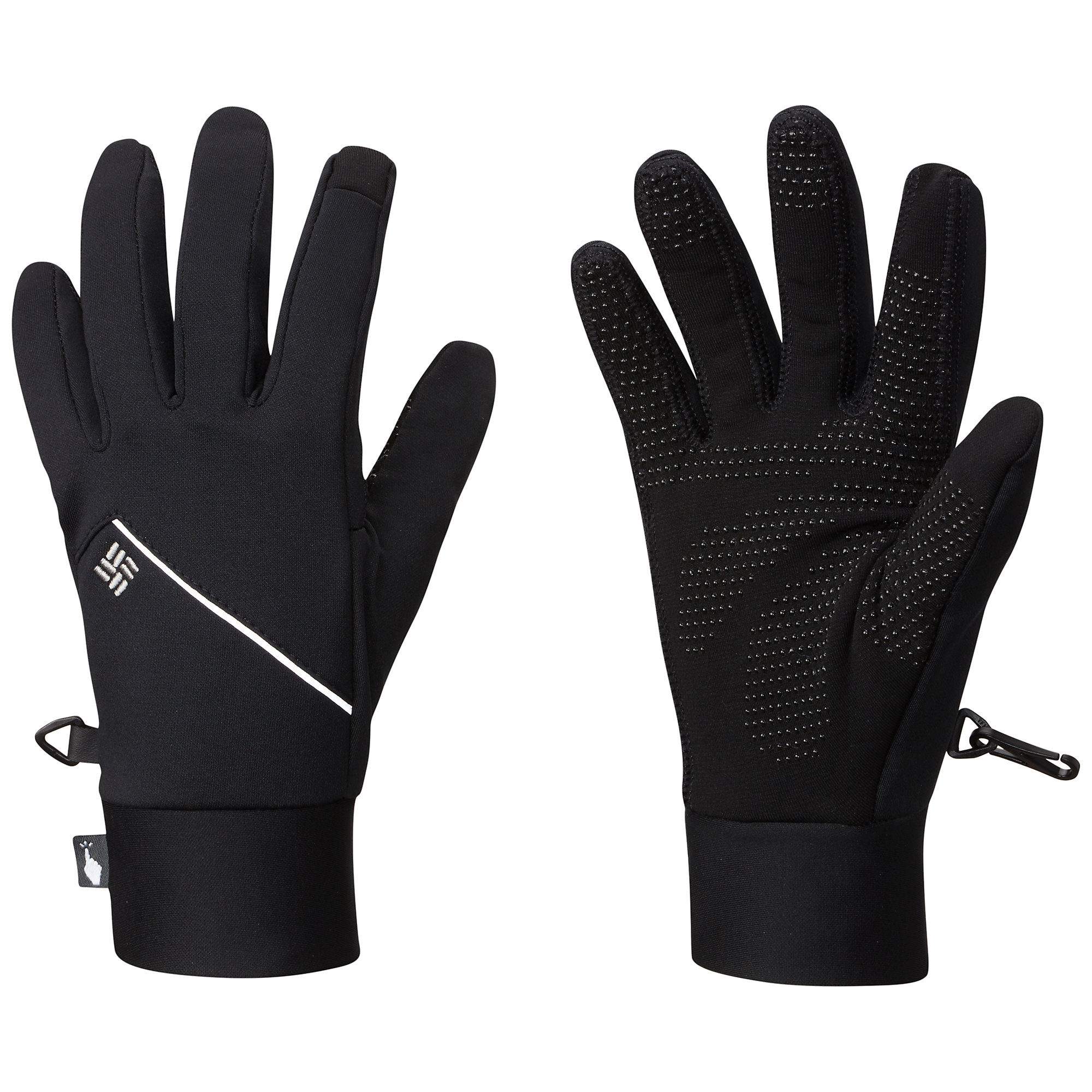 photo: Columbia Trail Summit Running Glove fleece glove/mitten