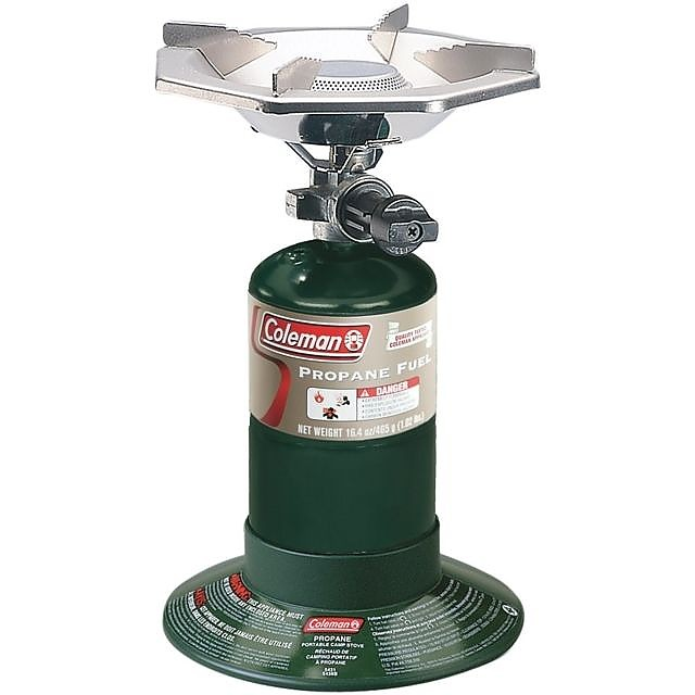 photo: Coleman 1 Burner Propane Stove compressed fuel canister stove