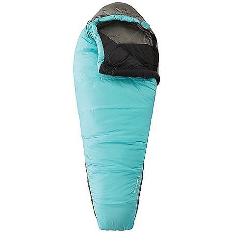 photo: Mountain Hardwear Women's UltraLamina 15° 3-season synthetic sleeping bag