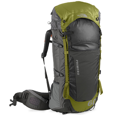 photo: The North Face Primero 60 weekend pack (50-69l)