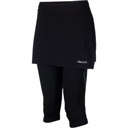 photo: Marmot Trail Breeze Capri Skirt running skirt