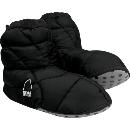 photo: Sierra Designs Down Packable Bootie bootie