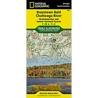 National Geographic Brasstown Bald/Chattooga River Map