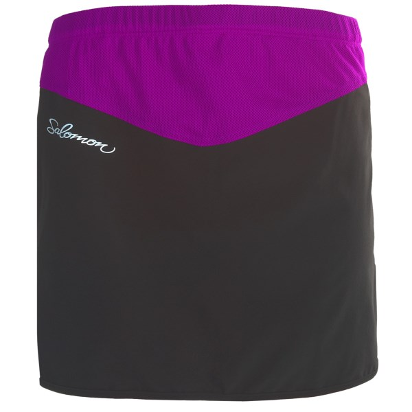 photo: Salomon XA Series Twinskin Skirt running skirt