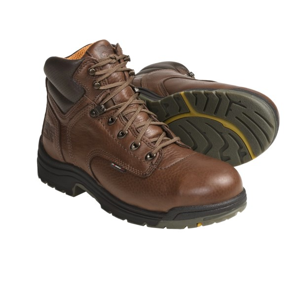 photo: Timberland Pro Titan 6-Inch Safety Toe hiking boot