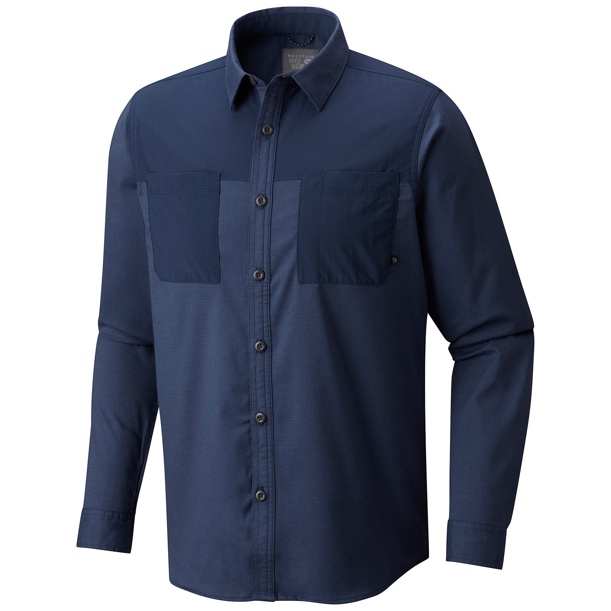 photo: Mountain Hardwear Stretchstone Utility Long Sleeve Shirt fleece top