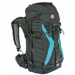 photo of a Snowpulse avalanche airbag pack