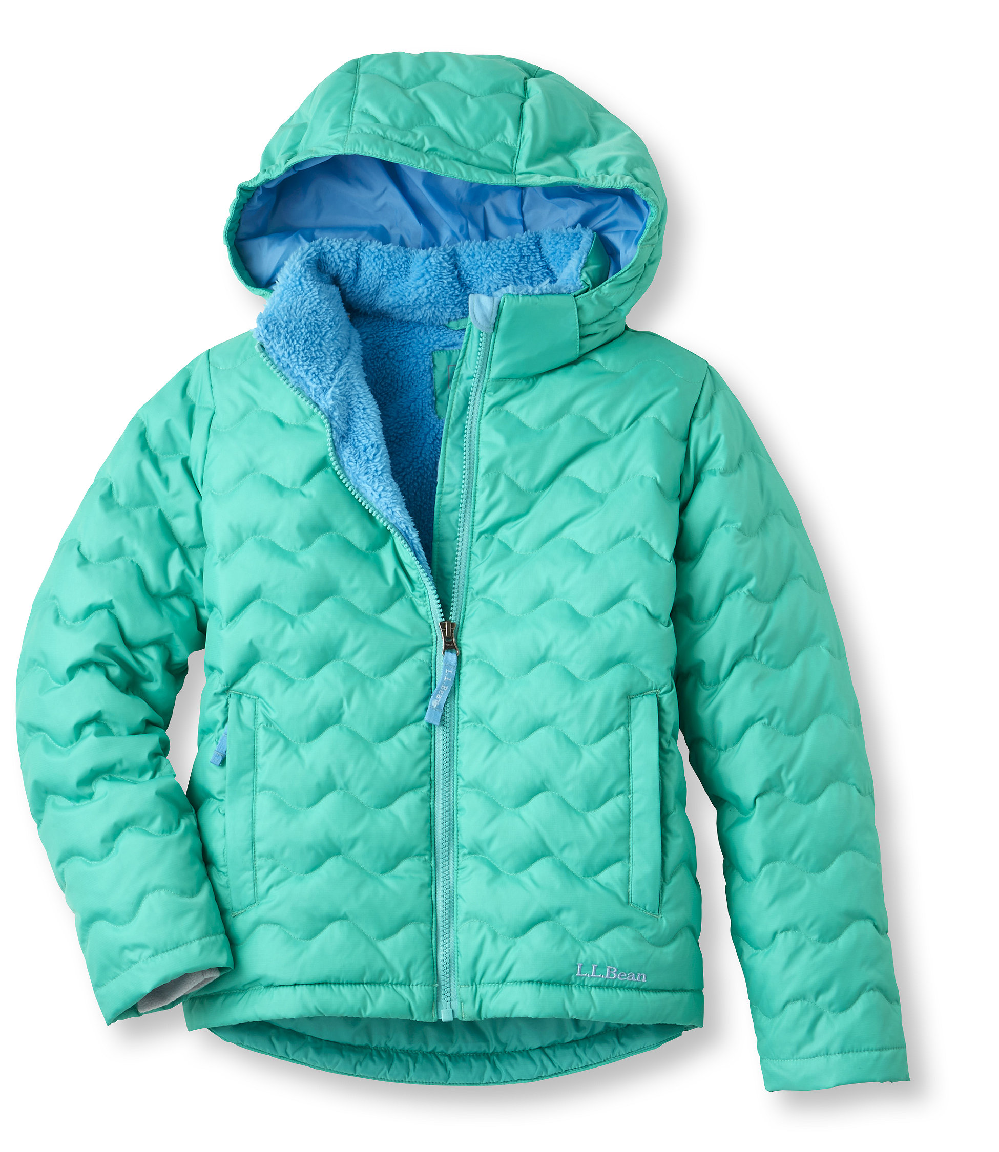 photo: L.L.Bean Fleece-Lined Down Jacket down insulated jacket