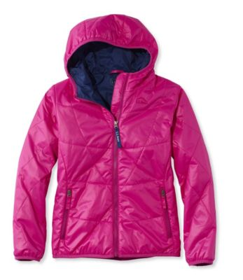 photo: L.L.Bean Girls' Puff-N-Stuff Jacket synthetic insulated jacket
