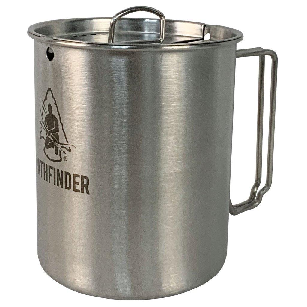 Pathfinder Stainless Steel 25 oz Cup & Lid Set