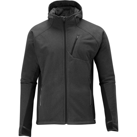 photo: Salomon High Pile Hoody Smartskin fleece jacket