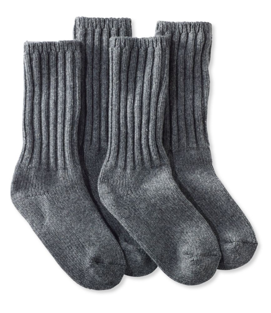 """L.L.Bean Merino Wool Ragg Socks, 10"""""""