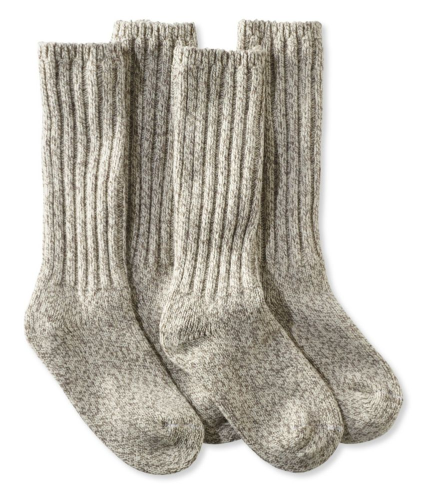 L.L.Bean Merino Wool Ragg Socks, 12""