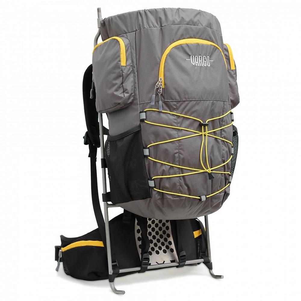 photo: Vargo Ti-Arc Pack external frame backpack