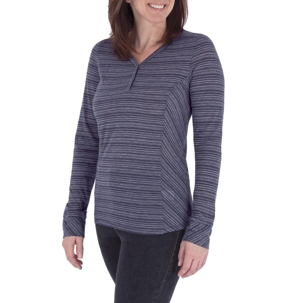 photo: Royal Robbins Sandstone Stripe Henley hiking shirt