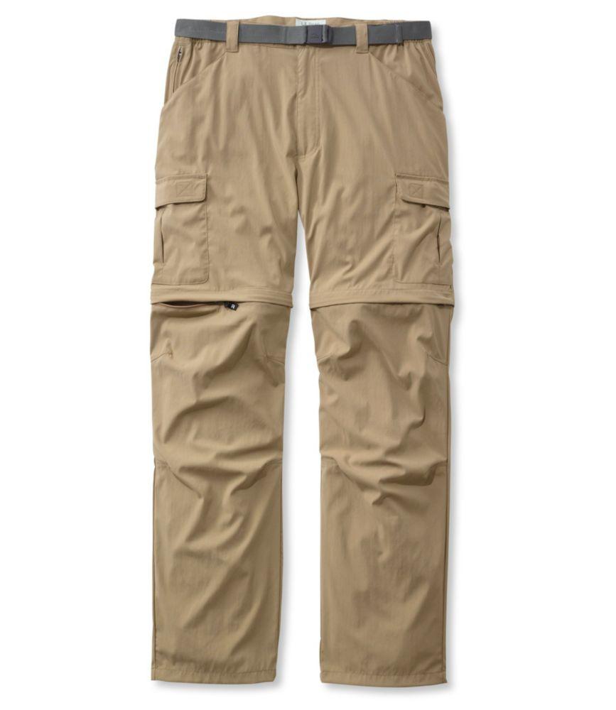 L.L.Bean Tropicwear Zip-Leg Pants