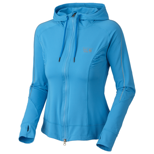 photo: Mountain Hardwear Women's Mighty Power Hoody fleece top