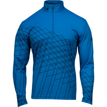photo: Spyder Powergrade Dry W.E.B. T-Neck long sleeve performance top
