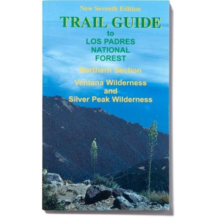 photo: Sierra Club Books Trail Guide to the Los Padre National Forest - Northern Section Trail Map us pacific states paper map