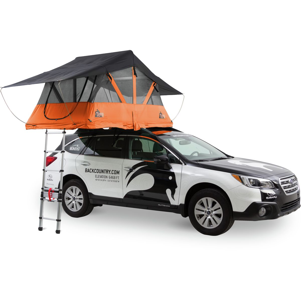 photo: Tepui Baja Series Mesh Canopy roof-top tent